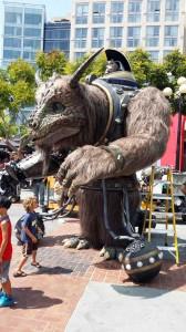 Comic Con 2014 Creature Creation