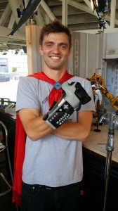 Comic Con 2014 NerdHQ Robot Chicken Power Glove