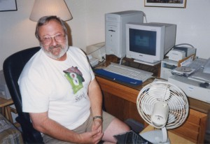 My dad and his Apple Performa 6500