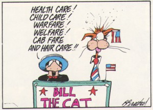Bill The Cat campaign