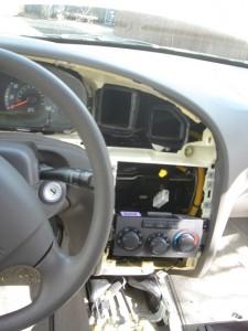 carputer hyundai dashboard open