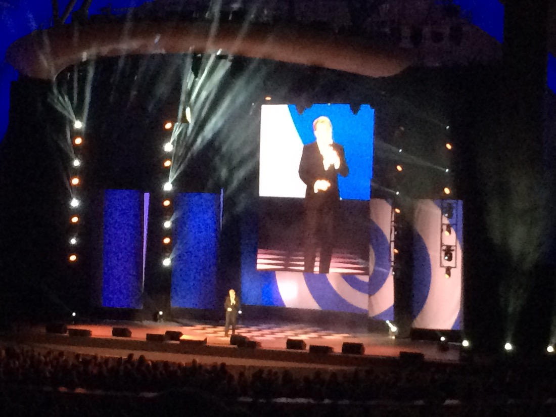 Eddie Izzard at the Hollywood Bowl June 6, 2015