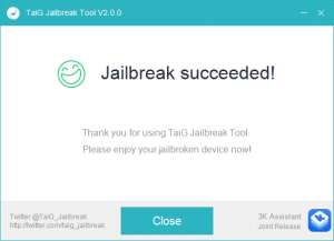tiag 8.3 jailbreak complete