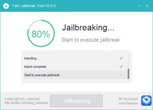 tiag 8.3 jailbreak continue