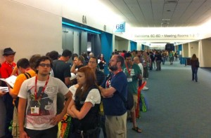 The lines at Comic Con San Diego