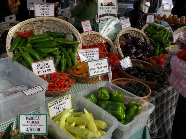 Eugene Farmers Market:  Peppers