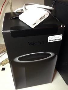 New 2013 Mac Pro!