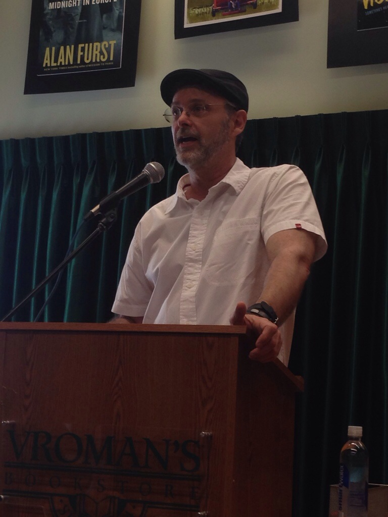Christopher Moore at Vroman's Bookstore!