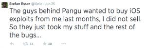 pangu jailbreak i0n1c twitter-1