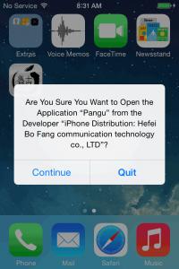 pangu jailbreak iphone screen-1