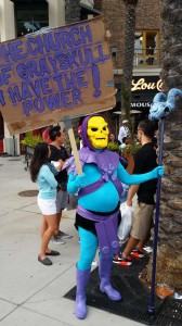 Comic Con 2014 Costume Skeletor
